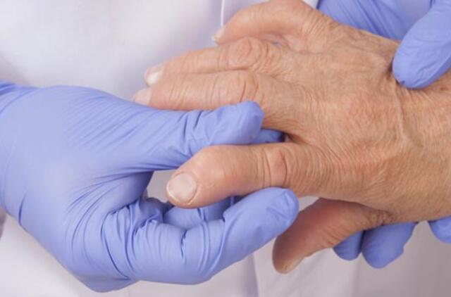 gelį iš ligų sąnarių