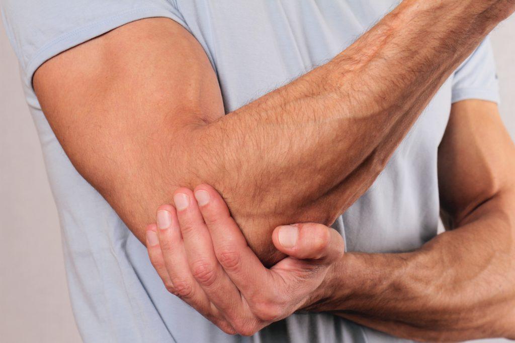 jei jūsų rankos skauda alkūnės sąnarių