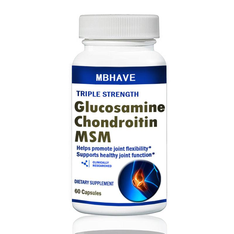 gliukozaminas chondroitino kapsulių kapsulės 60