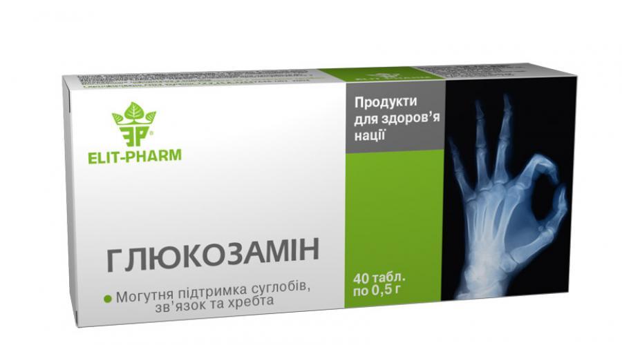 ką daro gliukozamino ir chondroitino artritas iš rankos gydymas sąnarių