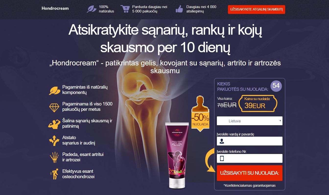 gydant osteoartritą rankų kremai latvija gydymas sąnarių