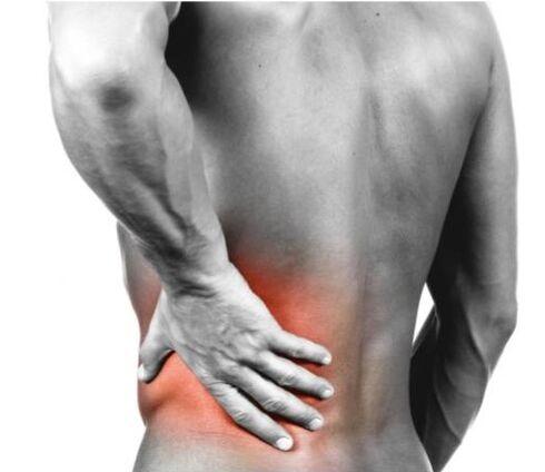liaudies gynimo mažas nugaros skausmas