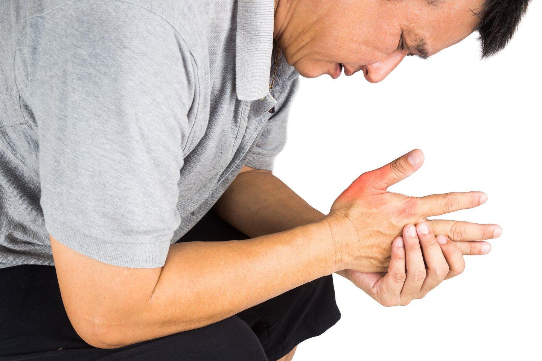 išimti medžiagą patikrinimai vertinant artrito sąnario